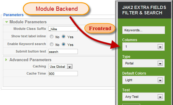 JA-Joomla-K2-Filter-Search-Module
